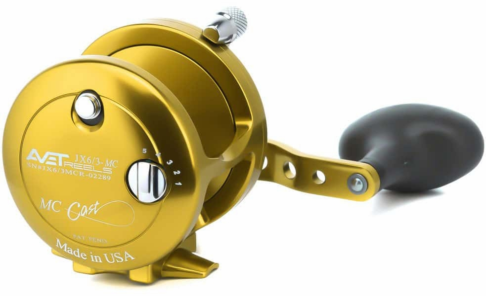 Avet Reels JX 6/3 MC GOLD