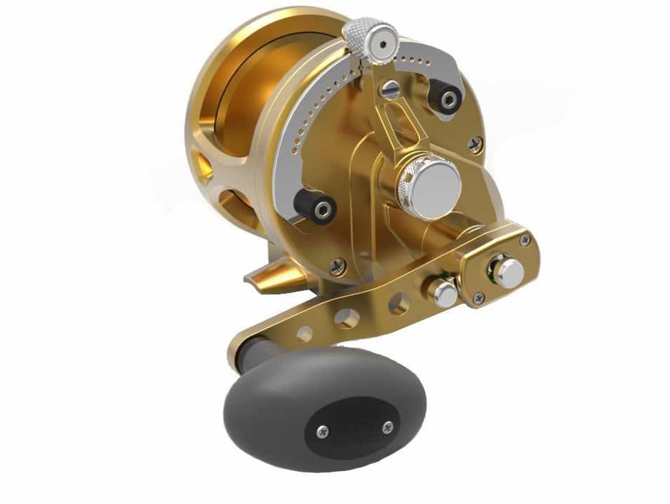 Avet JX G2 6/3 MC 2-Speed Reel Gold -  Avet Reels