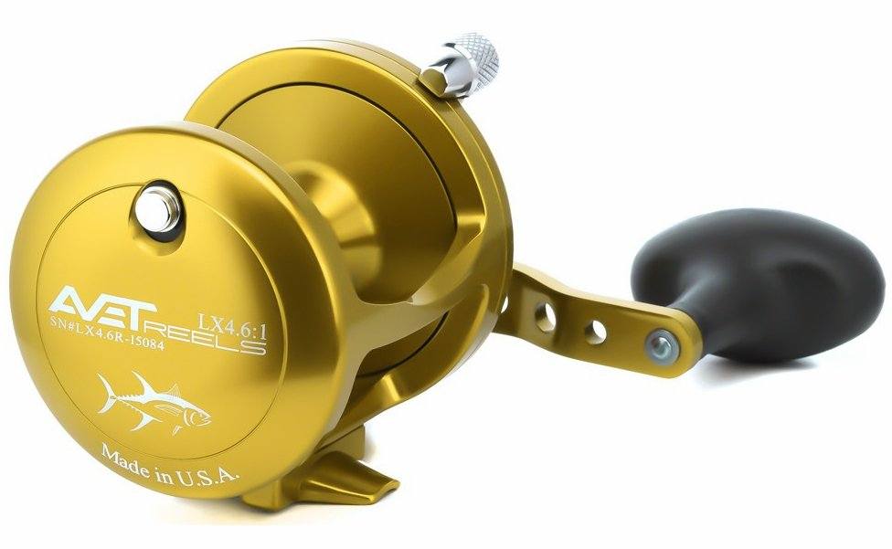 Avet Reels LX 4.6 L/H GOLD