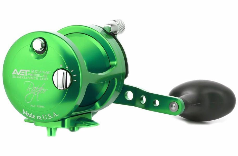 Avet Reels MXL 6/4 MC RAPTOR GREEN