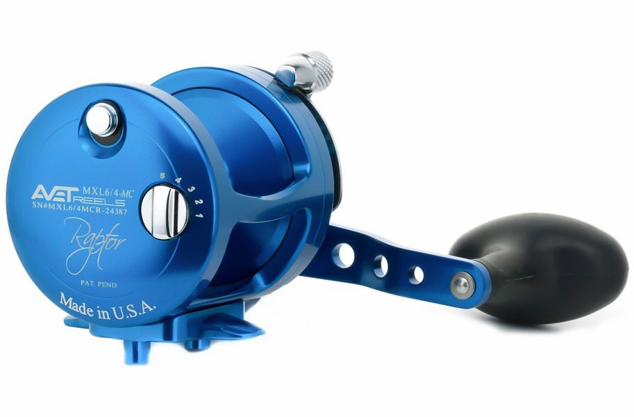 Avet Reels MXL 6/4 MC RAPTOR BLUE