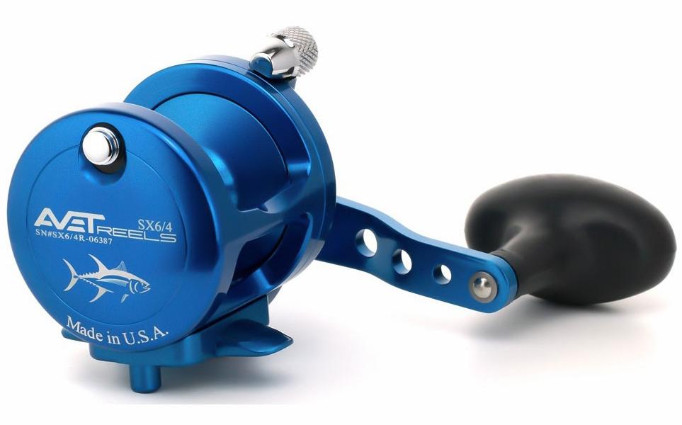 Avet Reels SX 6/4 L/H BLUE