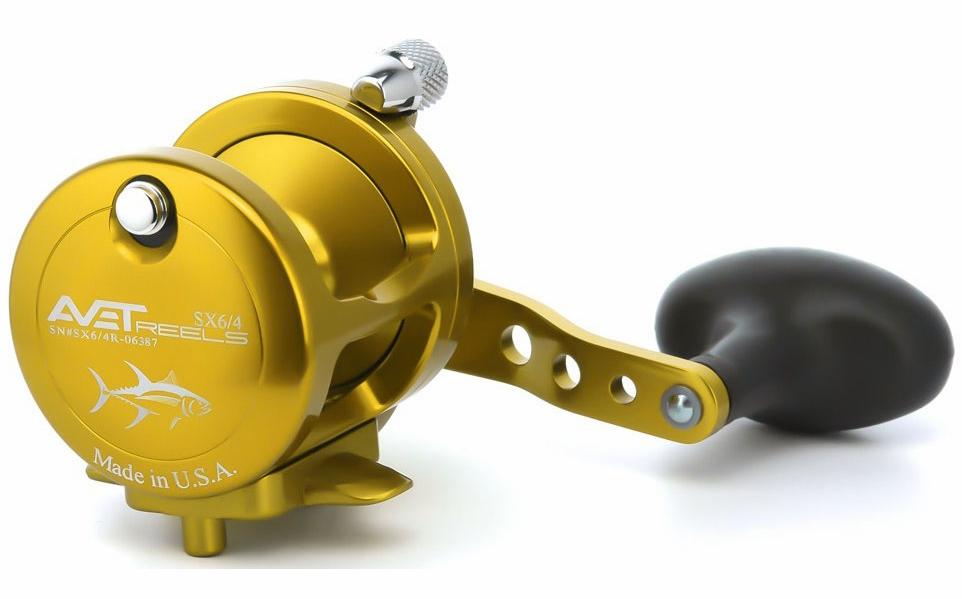 Avet Reels SX 6/4 L/H GOLD