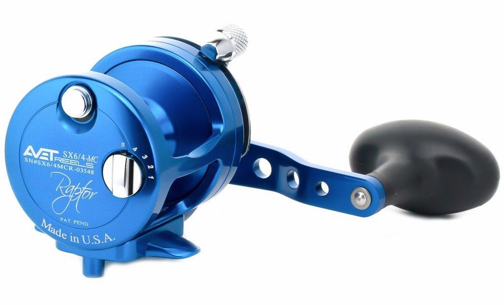 Avet Reels SX 6/4 MC RAPTOR BLUE