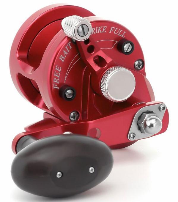 Avet SXJ 5 3 Single Speed Lever Drag Casting Reel Red