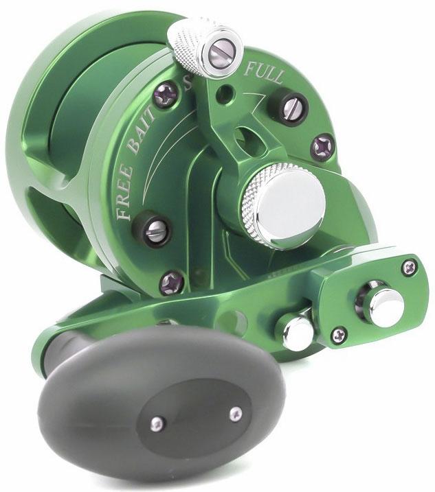 Avet SXJ 6/4 2-Speed Lever Drag Casting Reel Forest Green