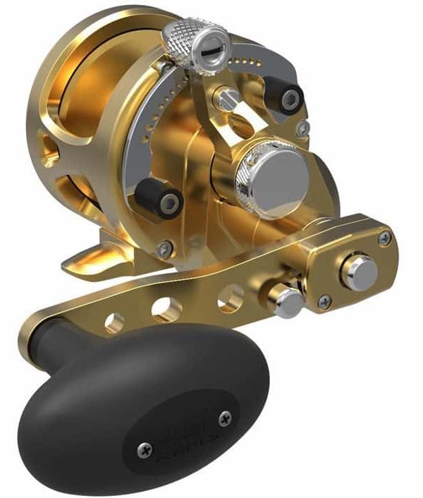 Avet SXJ G2 6/4 2-Speed Reel Gold -  Avet Reels