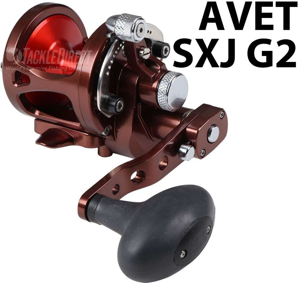 Avet Reels SXJ G2 6/4 MC RH