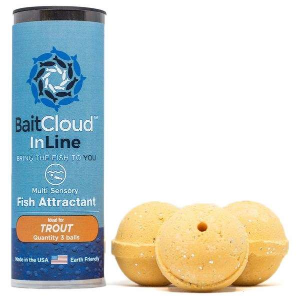 Baitcloud in line fish attractant trout for Baitcloud fish attractant