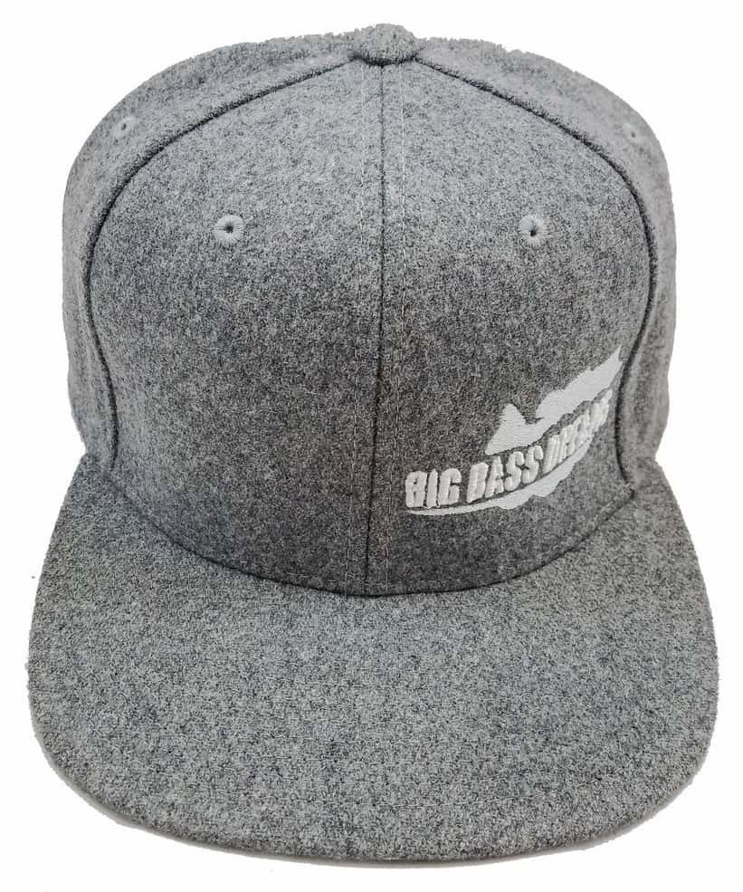 Big Bass Dreams Logo Classic Hat Black/White Embroidery BBD-0041-4