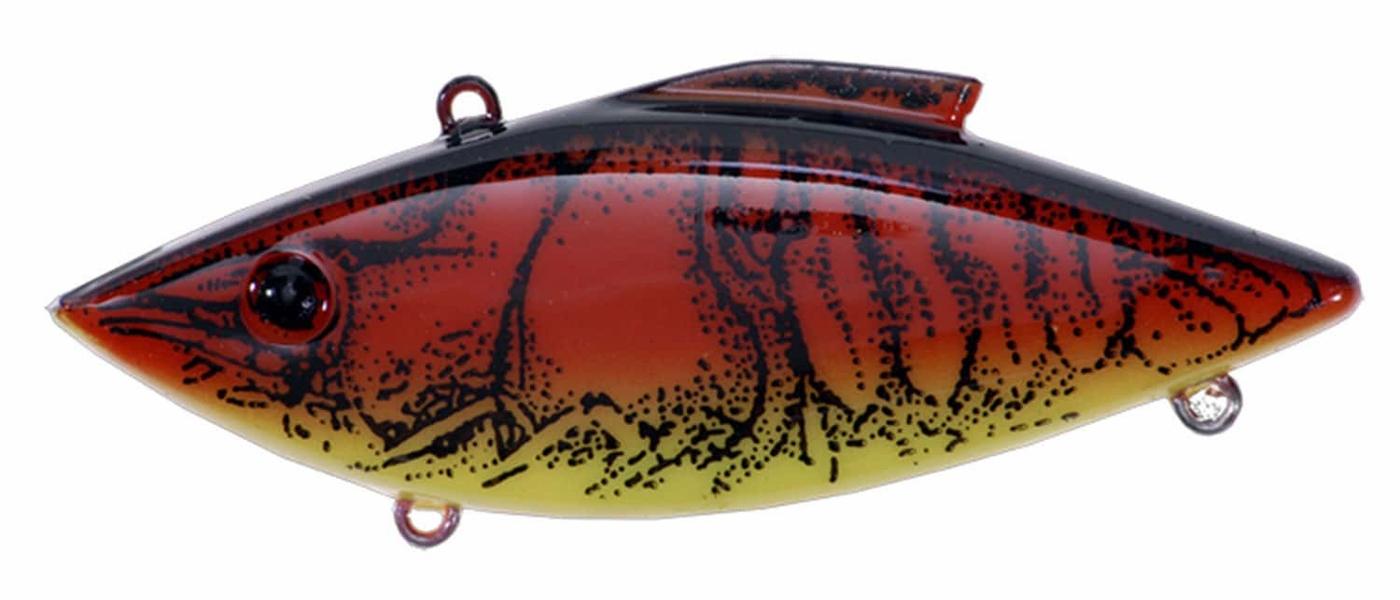 "Rat-L-Trap 1//4oz 2 1//2"" Red Crayfish"