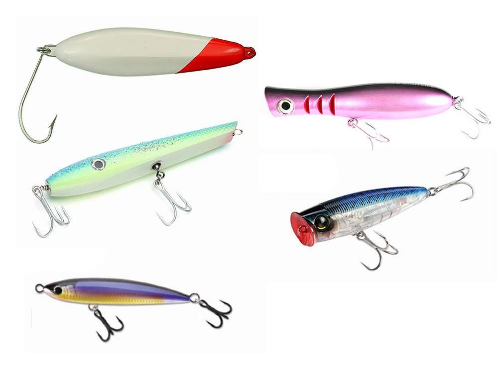 Blacktiph topwater lure combo tackledirect for Ocean fishing gear