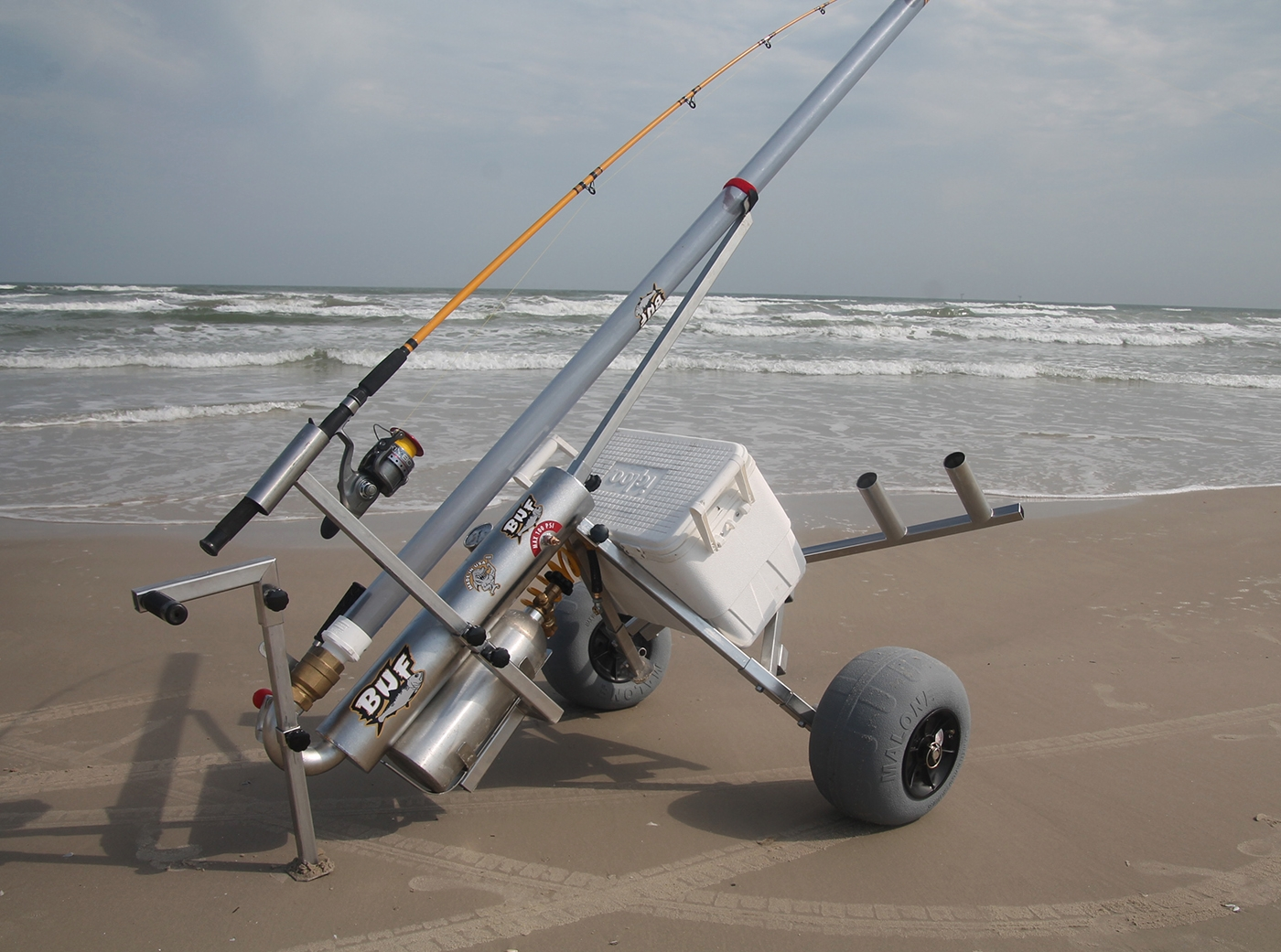 Bunker Up Fishin' Tall Boy Beach Cart Accessory Kit