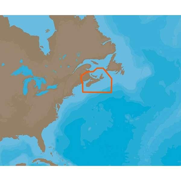 C-MAP 4D NA-D938 Fundy, Nova Scotia Pei