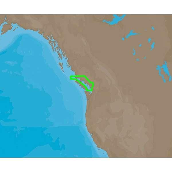 C-MAP 4D NA-D957 San Juan Islands to Nigei Island on