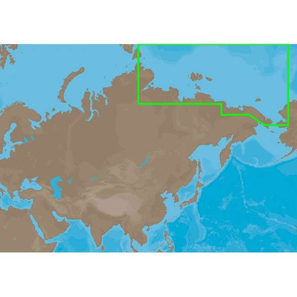 C-MAP MAX RS-M204 - Russian Federation North