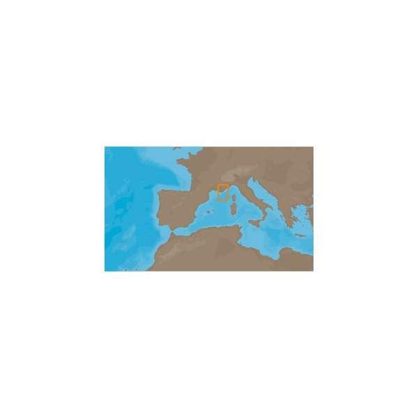 C-MAP NT+ EM-073 - France Mediterranean East