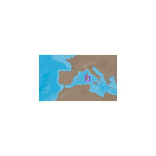 C-MAP NT+ EM-C912 - Sardinia South -