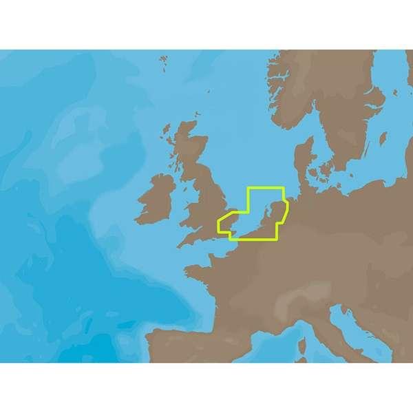 C-MAP NT+ EN-C070 - Netherlands & Belgium