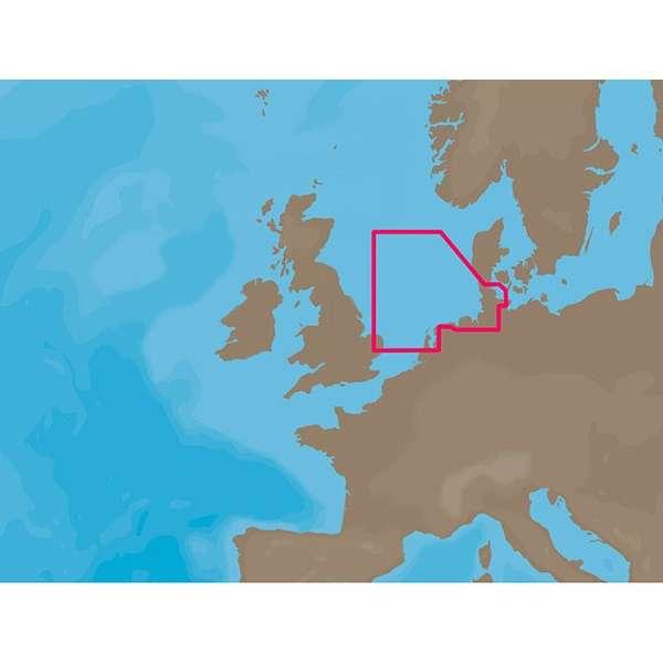 C-MAP NT+ EN-C071 - Ijmuiden-Esbjerg - Furuno