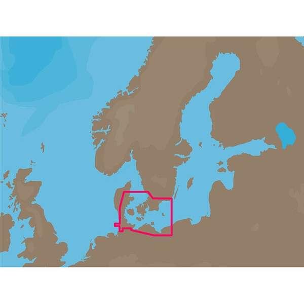 C-MAP NT+ EN-C160 - Eastern Denmark -