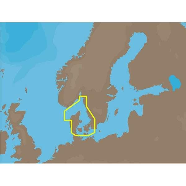 C-MAP NT+ EN-C253 - Western Sweden -