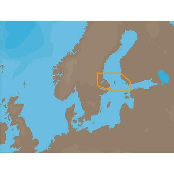 C-MAP NT+ EN-C260 - Aaland Passages -