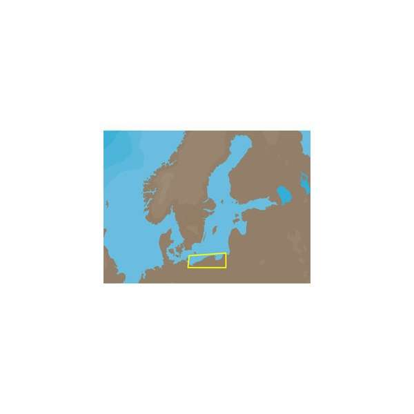 C-MAP NT+ EN-C803 - Poland - Furuno