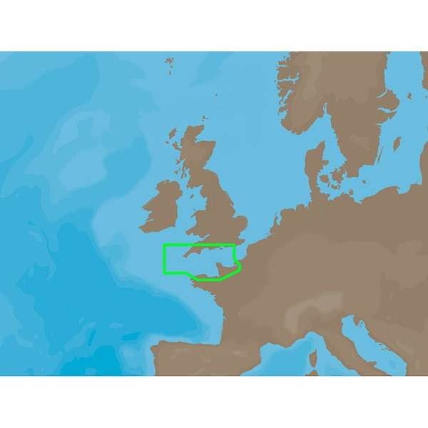 C-MAP NT+ EW-C201 - Central English Channel