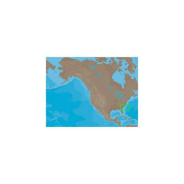 C-MAP NT+ NA-C316 - Cape Lookout-Jax: Bathy