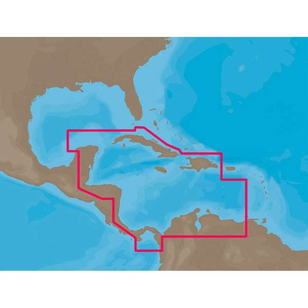 C-MAP NT+ NA-C502 - Western Caribbean Sea
