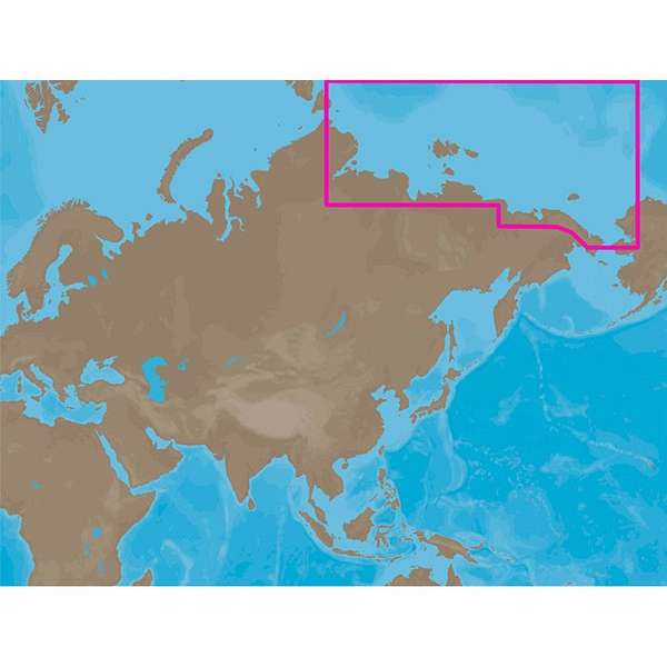 C-MAP NT+ RS-C204 - Russian Federation Northeast