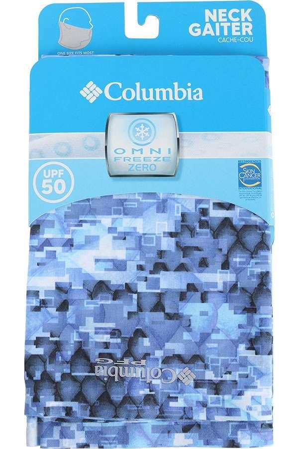 Columbia Freezer Zero Neck Gaiter - Vivid Blue Digi Scale Print