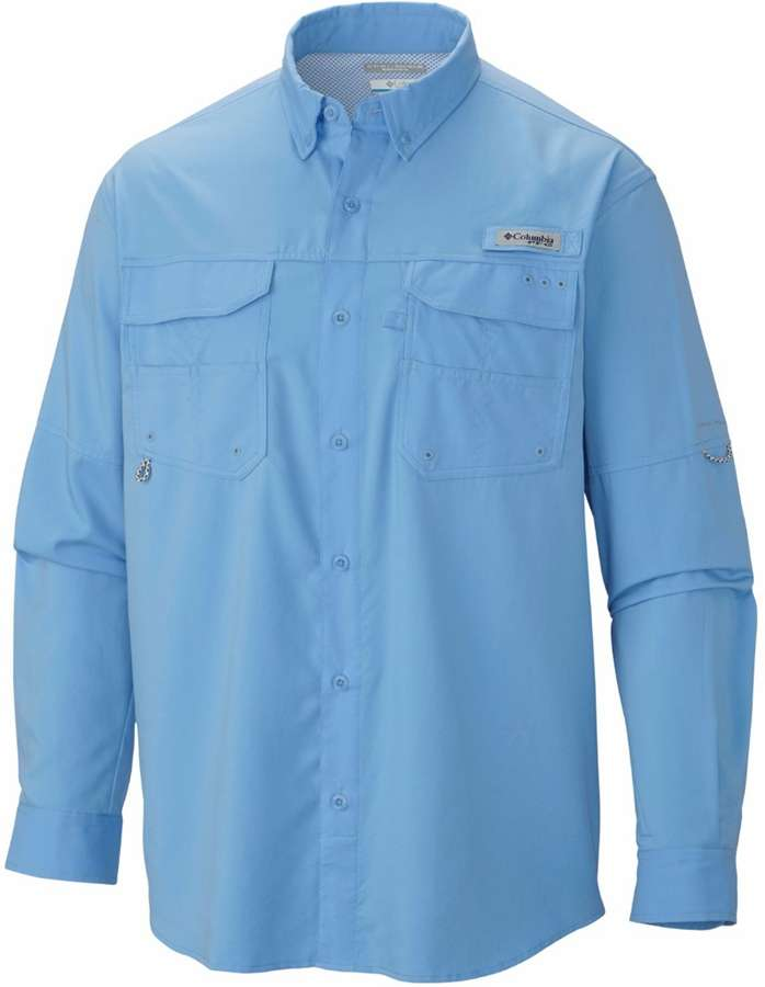 Columbia pfg blood and guts iii long sleeve woven shirt for Columbia shirts womens pfg