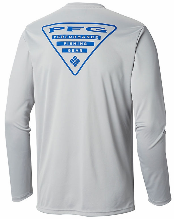 fb94e6f7167 Columbia Terminal Tackle PFG Triangle Long Sleeve Shirt | TackleDirect