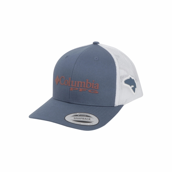 7eaa42716ef1e Columbia PFG Mesh Snap Back Ball Cap - Dark Mountain - TackleDirect