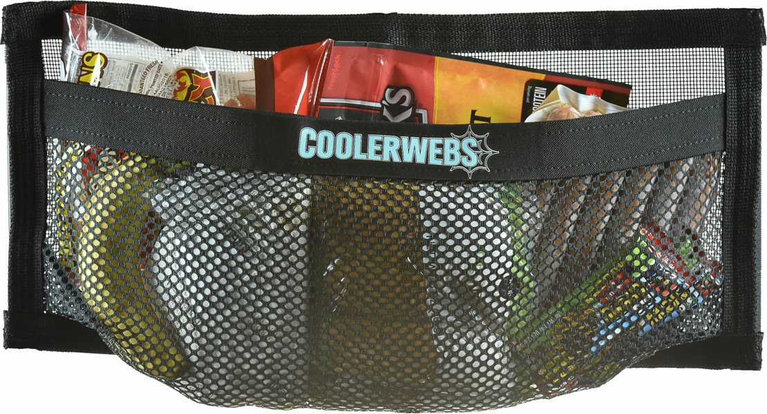 CoolerWebs Large 20in x 9in Cooler Lid Storage Pocket