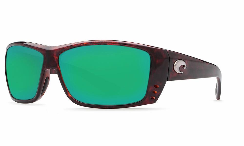 97fbbee2c2 Costa Cat Cay Sunglasses Tortoise Green Mirror 580G - TackleDirect