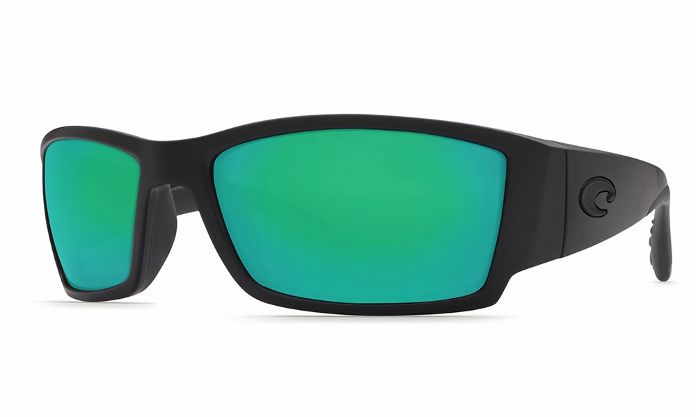 0baa647a9cd Costa Corbina Sunglasses Blackout Green Mirror 580G - TackleDirect