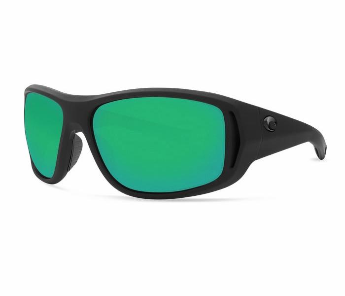 Costa Del Mar Montauk Sunglasses - Matte Black Green Mirror - TackleDirect fe6453505901d