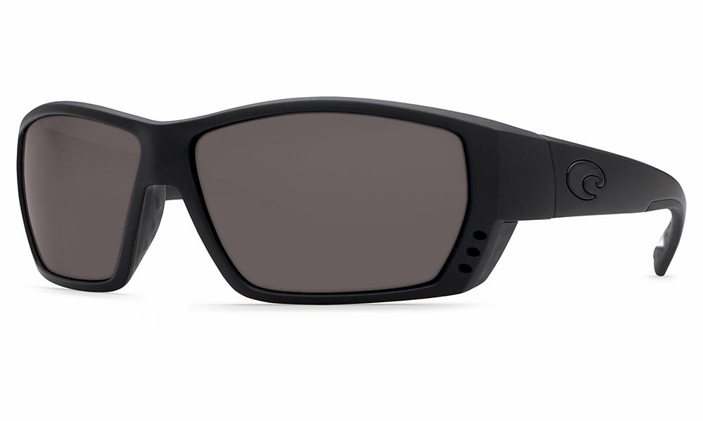c0dc411d88f Costa Del Mar Tuna Alley Sunglasses 580 Glass Blackout Frame
