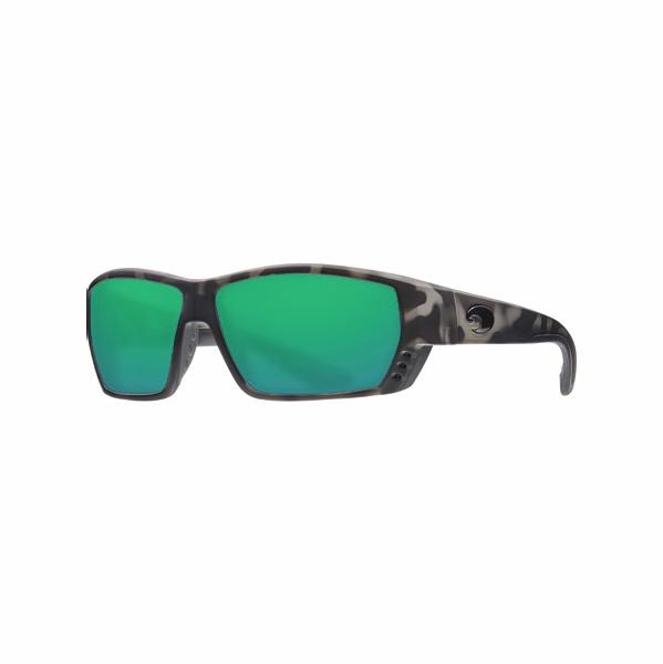 a858ab4f8777 Costa Tuna Alley Ocearch Sunglasses - Matte Tiger Shark/Green Mirror