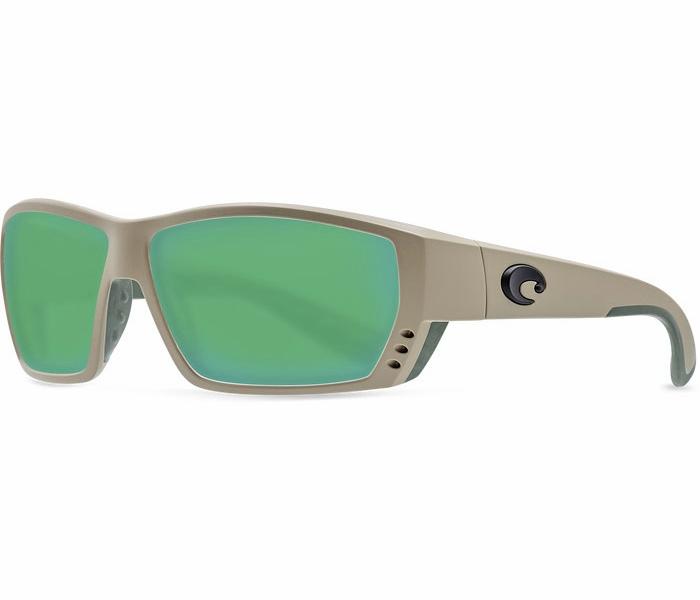 ea8ed5f7fc Costa Del Mar Tuna Alley Sunglasses - Sand Green Mirror 580G