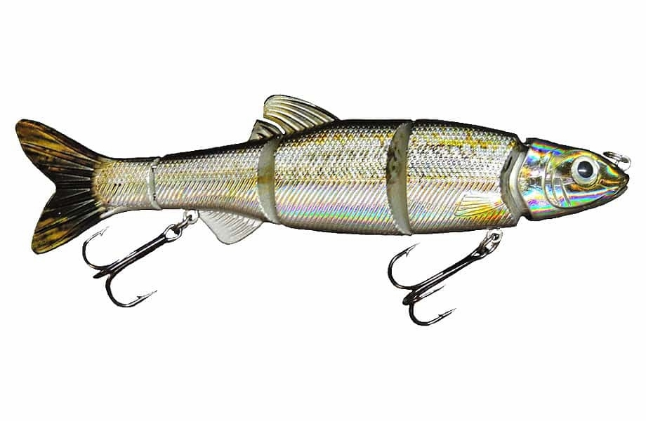 CTF Lures LiveWire Swimbait 6.5 Emerald Shiner