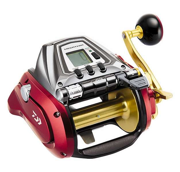 Daiwa 1200mj seaborg megatwin electric reel tackledirect for Electric fishing rod