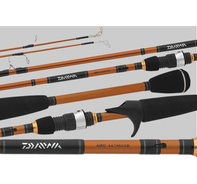 Daiwa aird662mhxb aird casting rod for Daiwa fishing rods