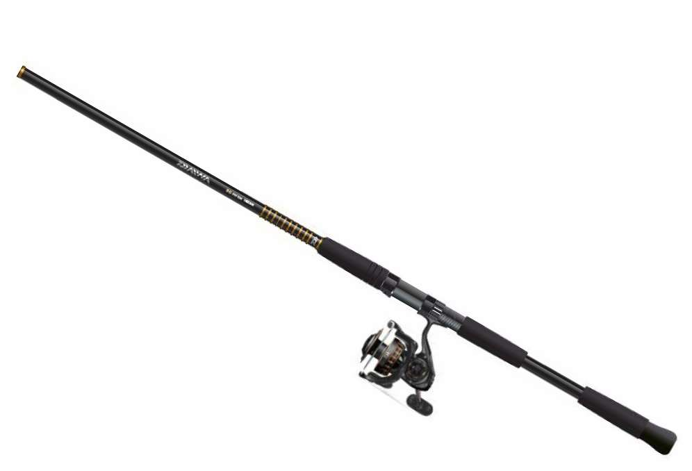 Daiwa bg saltwater spinning combos tackledirect for Saltwater fly fishing combo