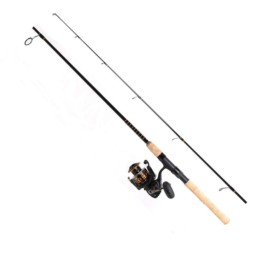 Daiwa bg4000 701mh bg saltwater spinning combo tackledirect for Saltwater fishing rod and reel combos