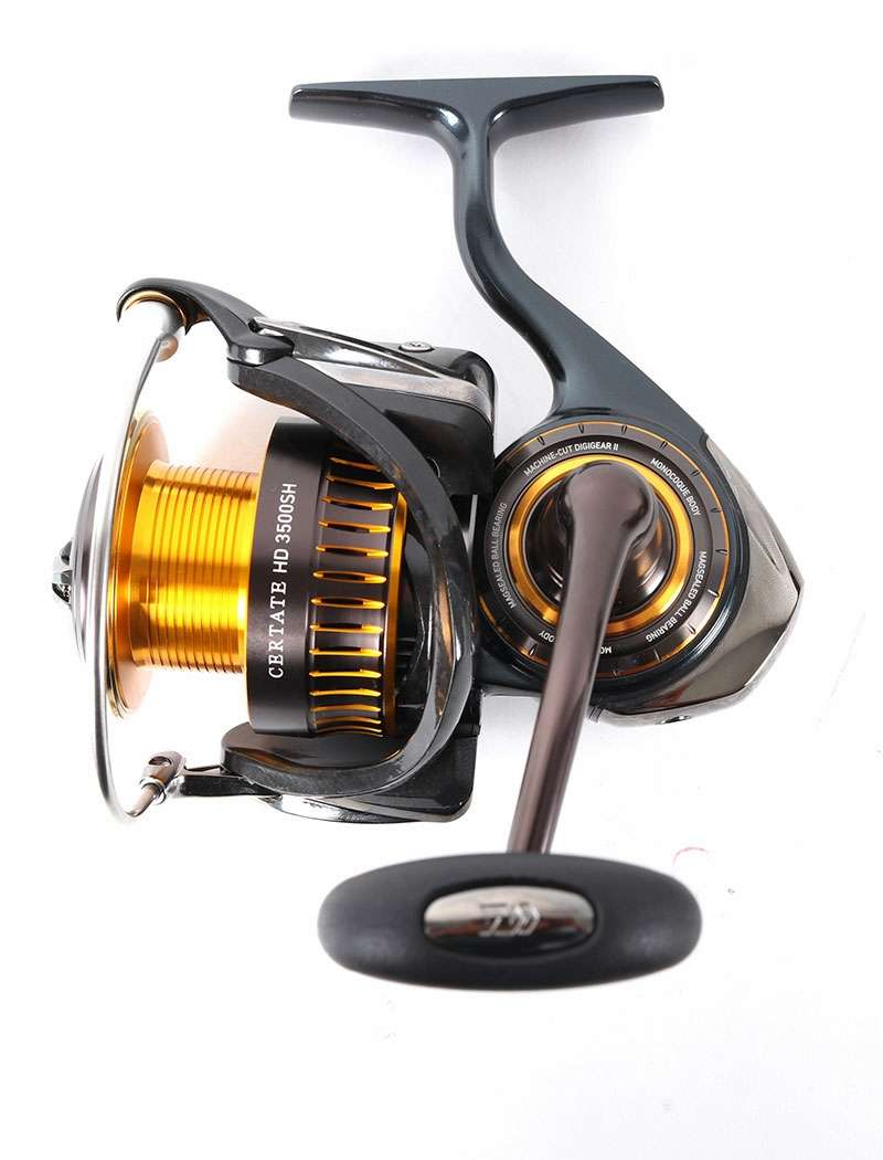 Daiwa certate spinning reels japanese version for Daiwa fishing reels