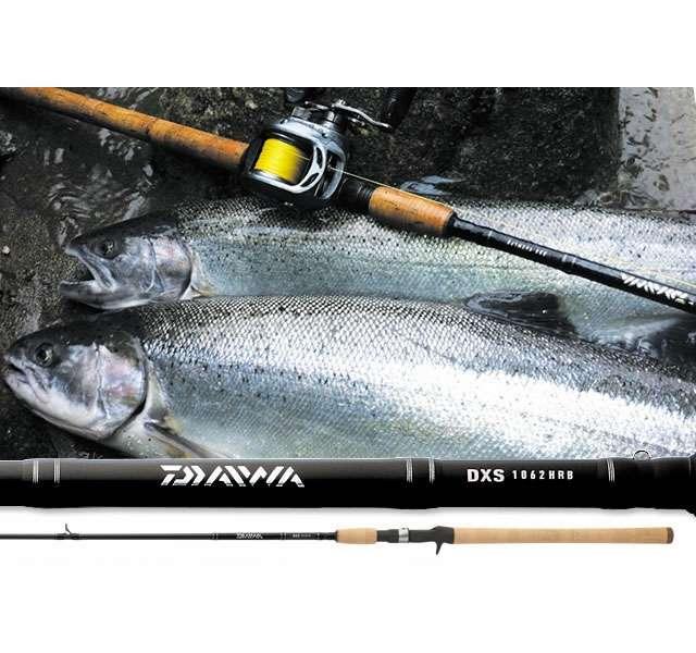 Daiwa dxs salmon steelhead casting rods tackledirect for Steelhead fishing gear